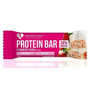 Women's Best Protein Bar Strawberry Crunch - 44g