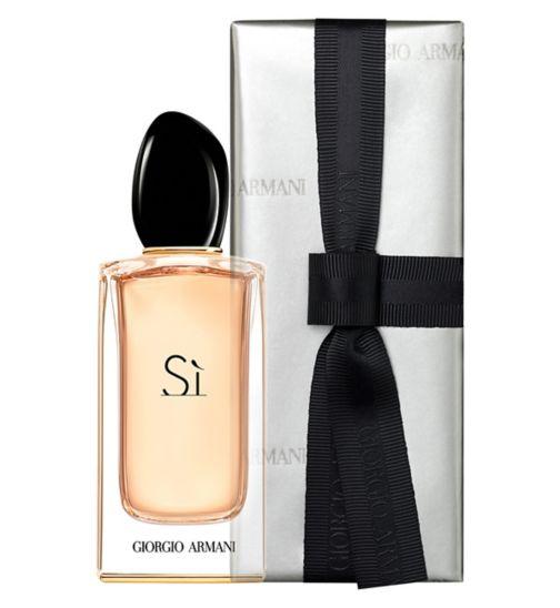 17716fe8b50 Giorgio Armani Si Eau de Parfum 100ml Gift Wrapped