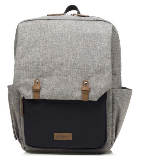 72e51180d13f Babymel George changing bag - Grey Black