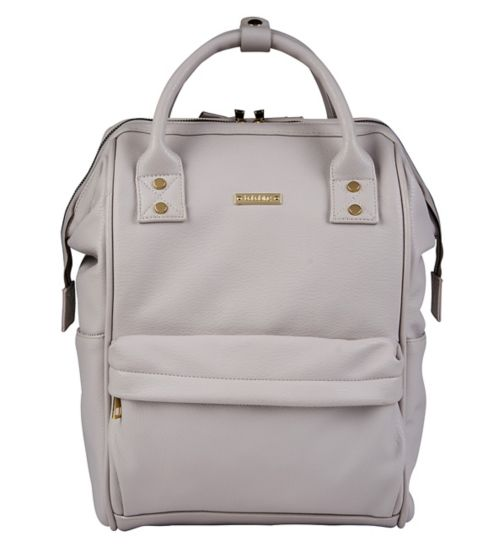 6c8d75799765 Mani Backpack Changing Bag Grey Blush - Exclusive to Boots
