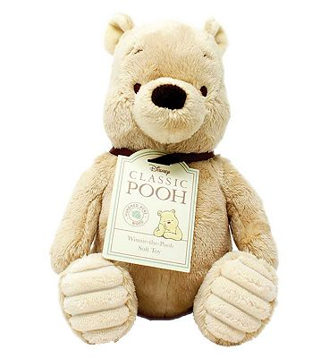 Classic Winnie the Pooh & Friends Soft Toy - Pooh