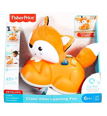 Fisher Price Sit To Crawl Learning Fox