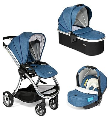 Tutti Bambini Arlo 3 in 1 Travel System – Chrome Chassis