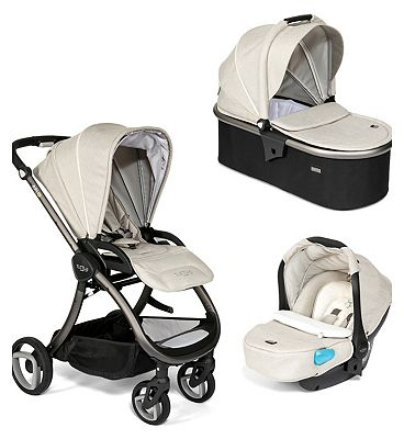 Tutti Bambini Arlo 3 in 1 Travel System – Charcoal Chassis