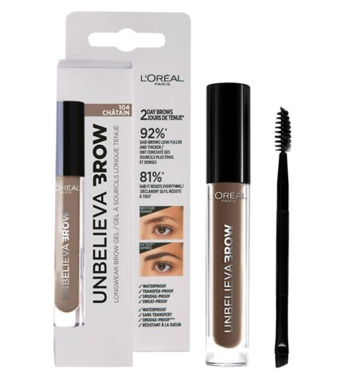 88e5786569e L'Oreal Paris Unbelieva'brow Long-Lasting Brow Gel