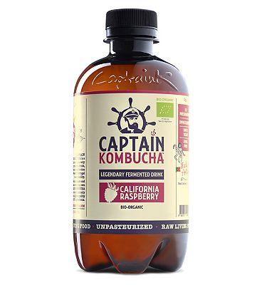 Captain Kombucha California Raspberry 400ml