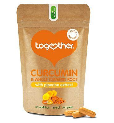 Together Curcumin and Turmeric Complex 30 vegecaps