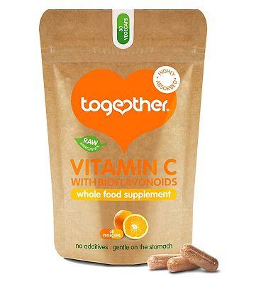 Together Vitamin C with Bioflavonoids 30 vegecaps
