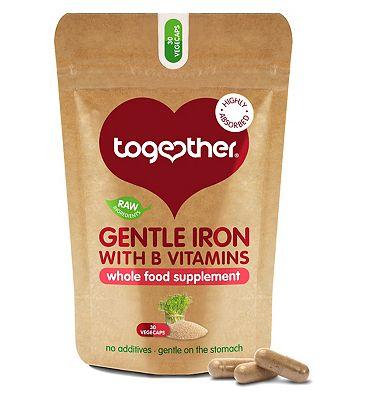 Together Gentle Iron Complex with B Vitamins 30 vegecaps