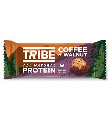 Tribe Natural Protein Bar Coffee & Walnut 50g