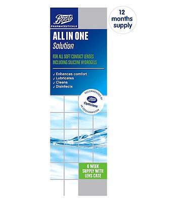 Image of Boots All In One Solution - 12 month supply