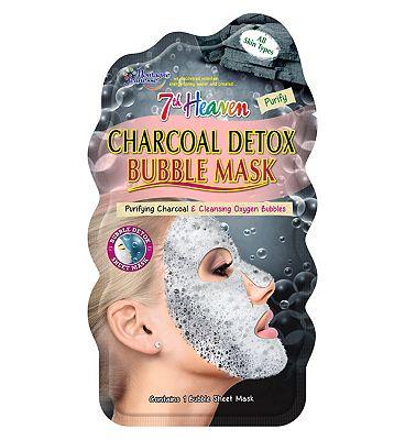 Montagne Jeunesse 7th Heaven Charcoal Detox Bubble Sheet Mask