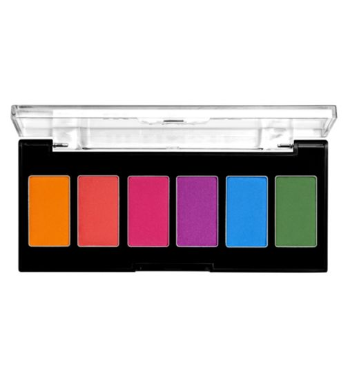 bf5873a3c21 NYX Professional Makeup Ultimate Edit Petite Eyeshadow Palette - Brights