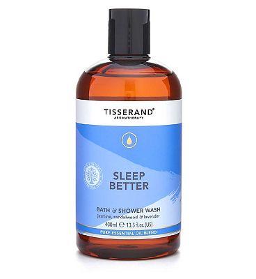 Tisserand Aromatherapy Sleep Better Bath & Shower Wash - 400ml