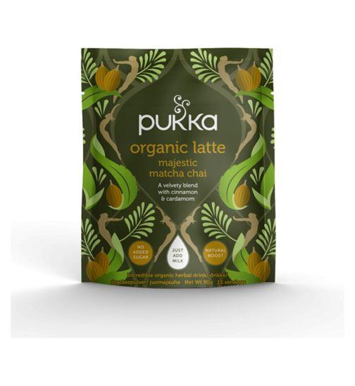 Pukka Organic Latte Majestic Matcha Chai - 90g