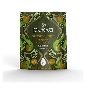 Pukka Organic Latte Majestic Matcha Chai 90g (15 servings)