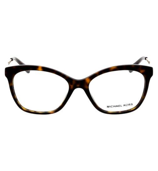 9f54fed5e2 Michael Kors Ladies MK4057 Womens Glasses - Dark Havana