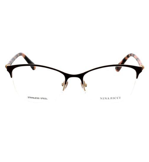 53ce2c285e0a Nina Ricci Ladies VNR175 Womens Glasses - Bordeaux