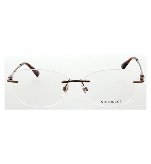 85700cde90db Nina Ricci Ladies VNR149S Womens Glasses - Bronze