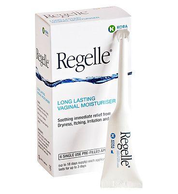Regelle Long Lasting Vaginal Moisturiser - 6 pack