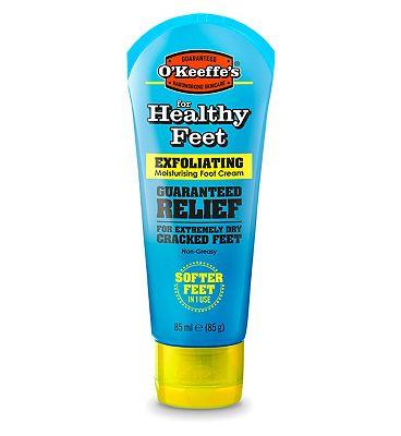 OKeeffe's Healthy Feet Exfoliating Moisturising Foot Cream - 85ml