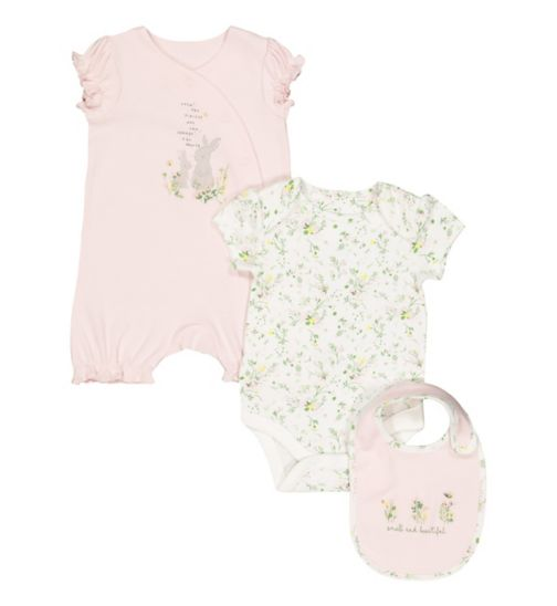 One-pieces Obliging Ted Baker Baby Girl Sleepsuit Newborn Floral Baby Grow ???????? Baby & Toddler Clothing