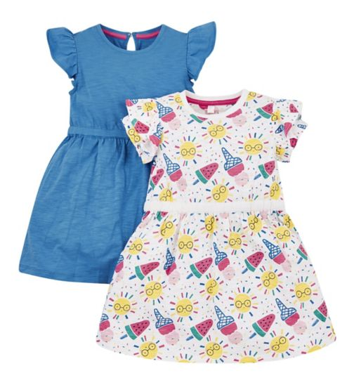 6508e331ee8 Mini Club 2 Pack Dresses