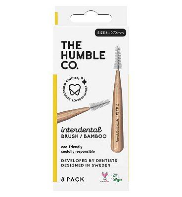 Humble Bamboo Interdental Brush 0.7mm 8 Pack