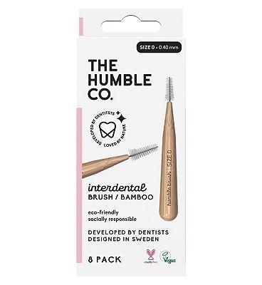 Humble Bamboo Interdental Brush 0.4mm 8 Pack