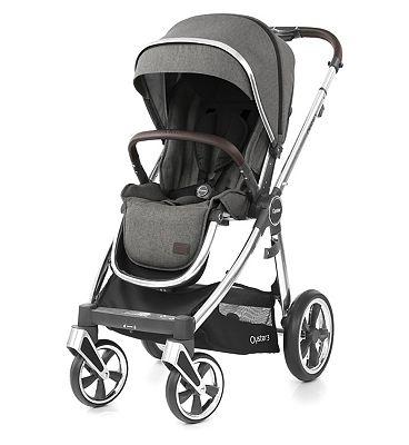 Babystyle Oyster Stroller – Mercury on Mirror