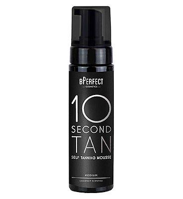 BPerfect 10 Second Tan - Medium Coconut - Mousse 200ml