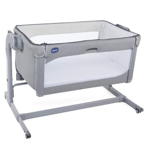 Chicco Next 2 Me Magic Bedside Crib - Cool Grey