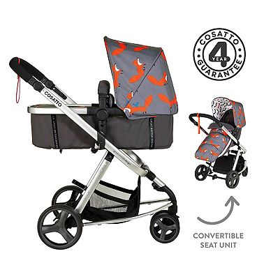 Cosatto Giggle Mix Pushchair - Mister Fox