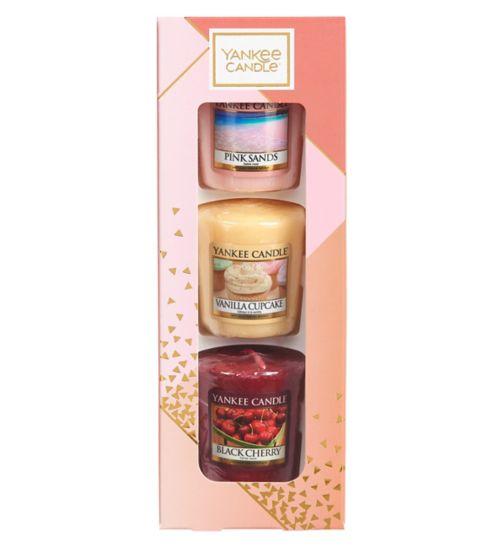 65e23b01ab76 Yankee Candle 3 Votive Gift Set