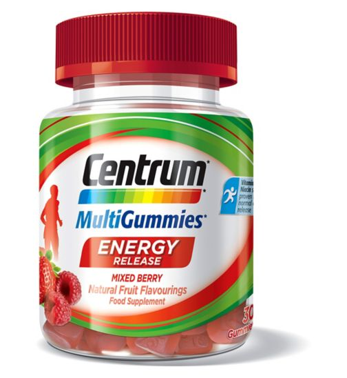 Centrum MultiGummies Energy Release Mixed Berry - 30 Gummies