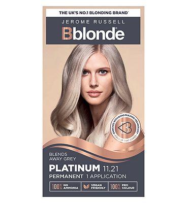 Jerome Russell Bblonde Platinum 11.21 Permanent Hair Colour
