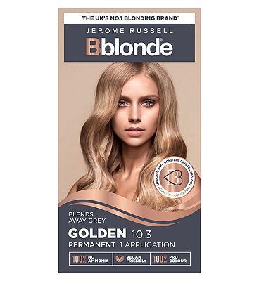 Jerome Russell Bblonde Golden Blonde 10.3 Permanent Hair Colour
