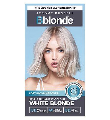 Jerome Russell Bblonde Semi Permanent White Blonde Toner