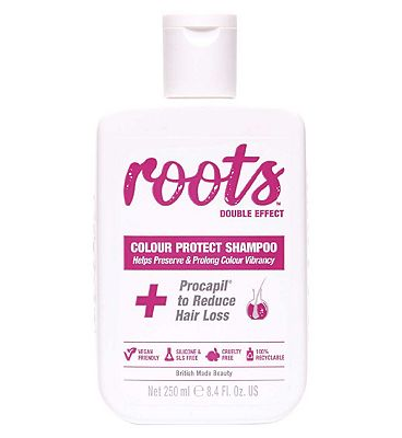 Roots Double Effect Colour Protect Shampoo 250ml
