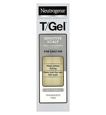 Neutrogena T-Gel Sensitive Scalp Shampoo 125ml