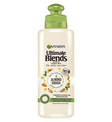 Garnier Ultimate Blends Almond Milk & Agave Sap Normal Hair Leave-In Conditioner 200ml