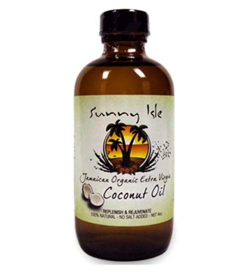 80779e4a6 Sunny Isle Jamaican Organic Extra Virgin Coconut Oil 113ml