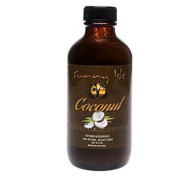 Sunny Isle Coconut Jamaican Black Castor Oil 113ml