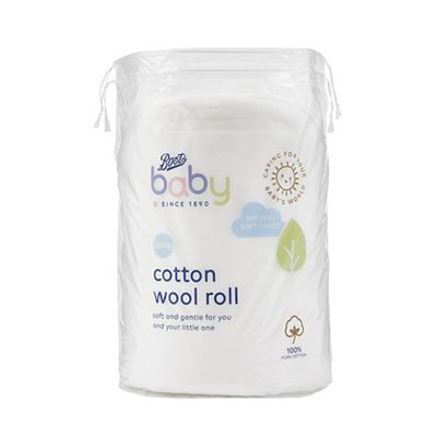 Image of Boots Baby Cotton Wool Roll 500g