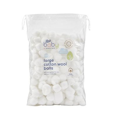 Image of Boots Baby Large Cotton Wool Balls 200 pack