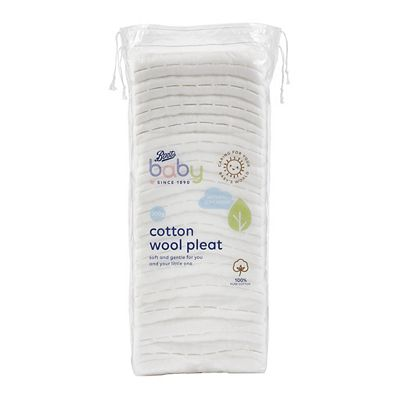 Image of Boots Baby Cotton Wool Pleat 200g