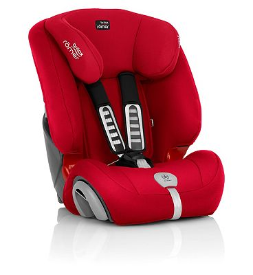 Britax Roemer Evolva 123 Plus Car Seat – Fire Red