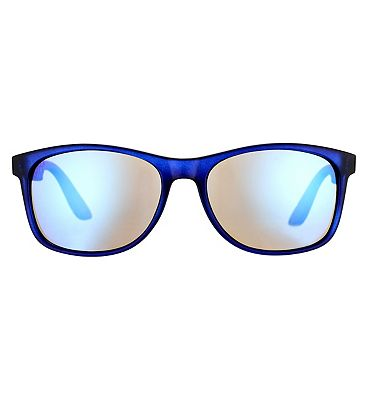 Boots Active Sunglasses - Blue and Orange Frame