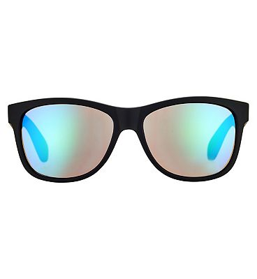 Boots Active Sunglasses - Black and Green Frame