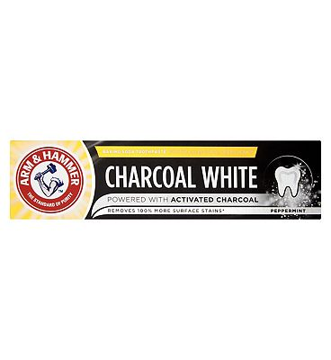 Arm & Hammer Charcoal White Natural Toothpaste 25ml